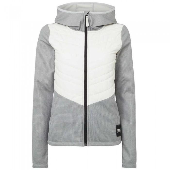 [해외]오닐 Athmos Baffle Mix Fleece 14137353078 Silver Melee