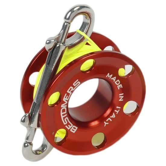 [해외]BEST DIVERS Reel Aluminium F29 1.2 mm 10137356178 Red / Yellow