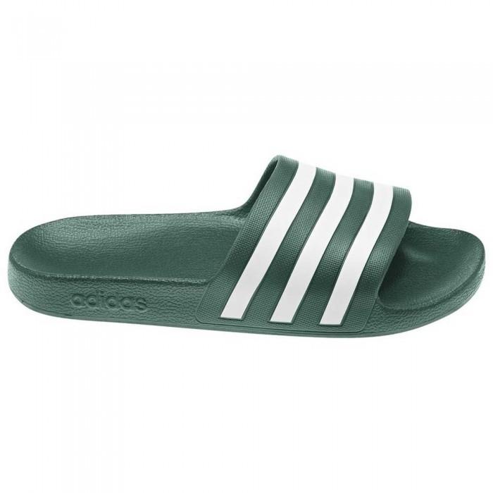 [해외]아디다스 아딜렛 아쿠아 Core Green / Footwear White / Core Green