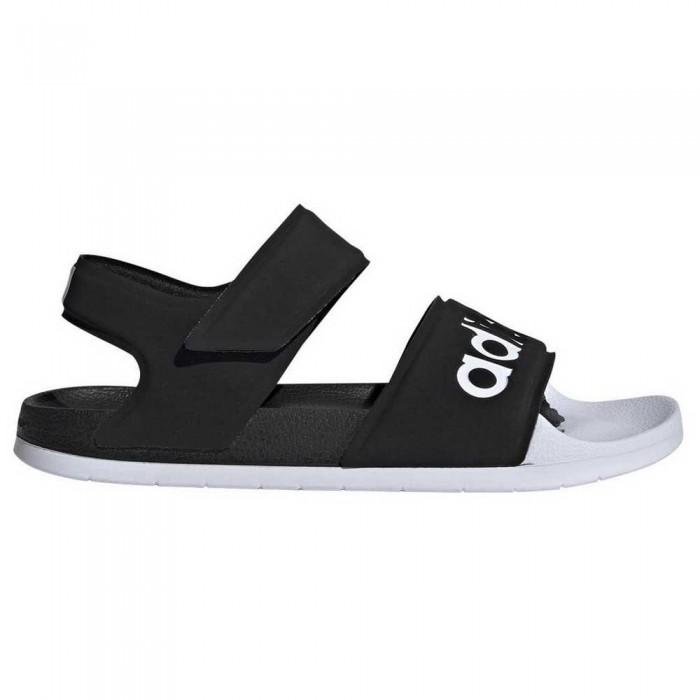 [해외]아디다스 아딜렛 S앤드al Core Black / Footwear White / Core Black