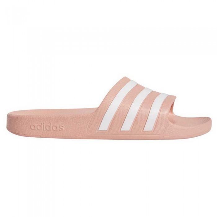 [해외]아디다스 아딜렛 아쿠아 Dust Pink / Footwear White / Dust Pink
