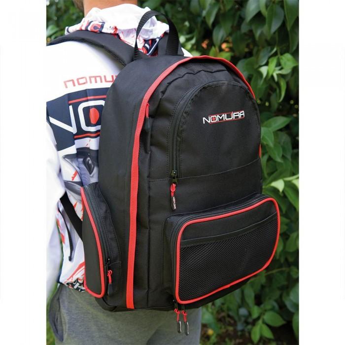 [해외]NOMURA Back Pack 34L 137384328 Black / Red