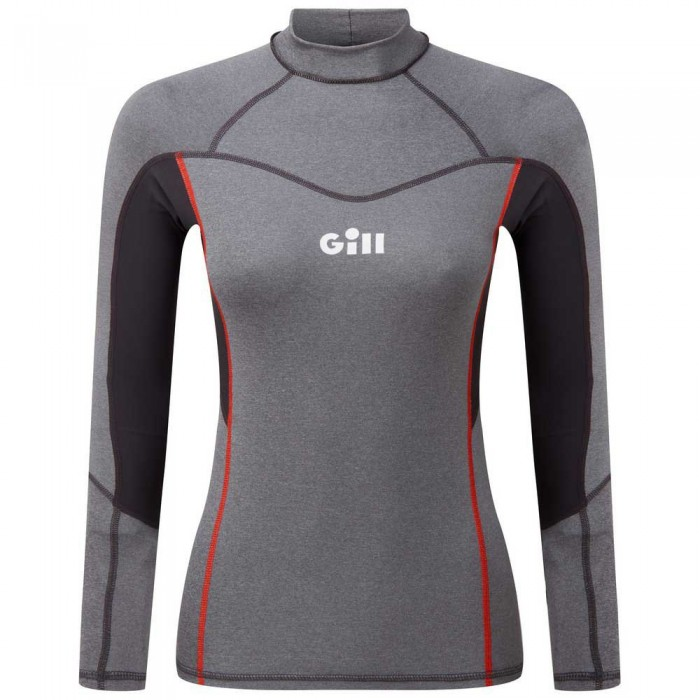 [해외]GILL Pro Rash Vest Grey Melange