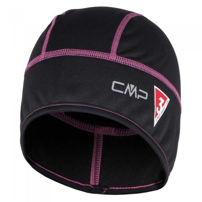 [해외]CMP Trail Pro Stretch Hat 6136585873 Black / Pink Fluo