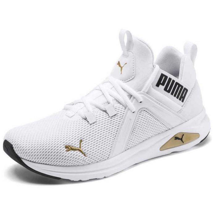 [해외]푸마 Enzo 2 Puma White / Gold / Puma Black
