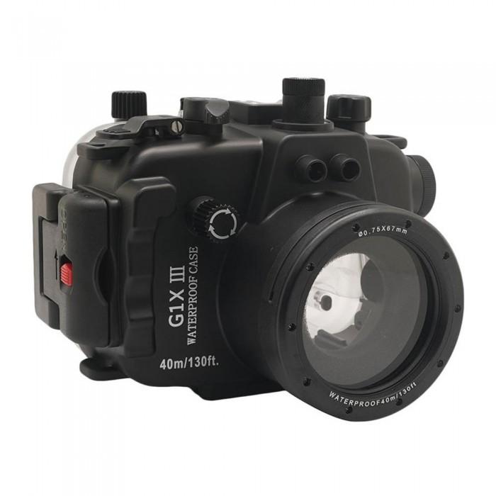 [해외]SEA FROGS Housing for Canon G1X Mark III Black