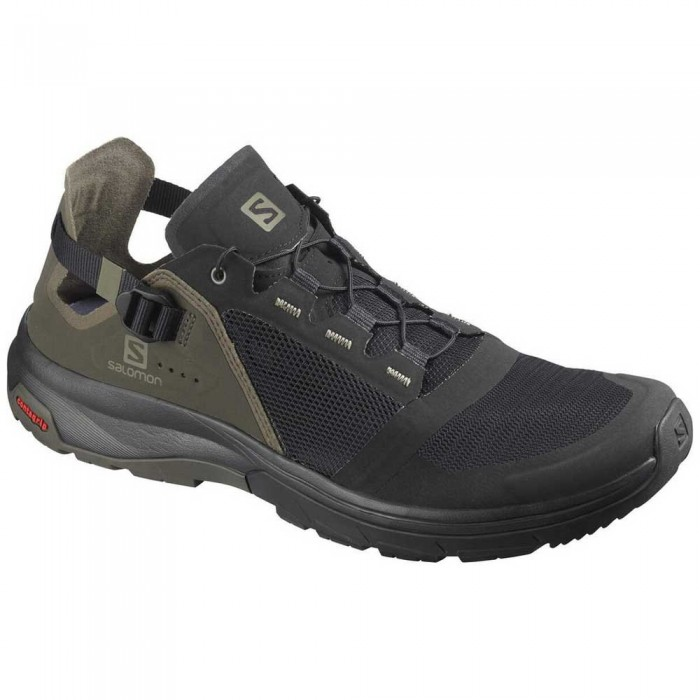 [해외]살로몬 Tech Amphib 4 Man6137380833 Black / Beluga / Castor Gray