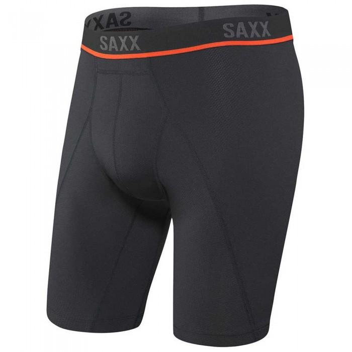 [해외]SAXX 언더웨어 Kinetic HD 롱 Leg Black