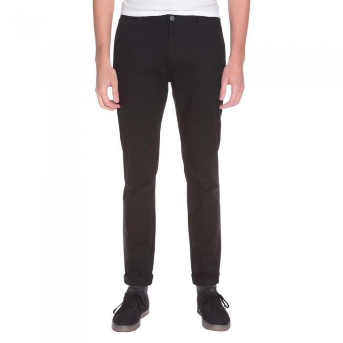 [해외]볼컴 Frickin Tight Chino Pants Tinted Black