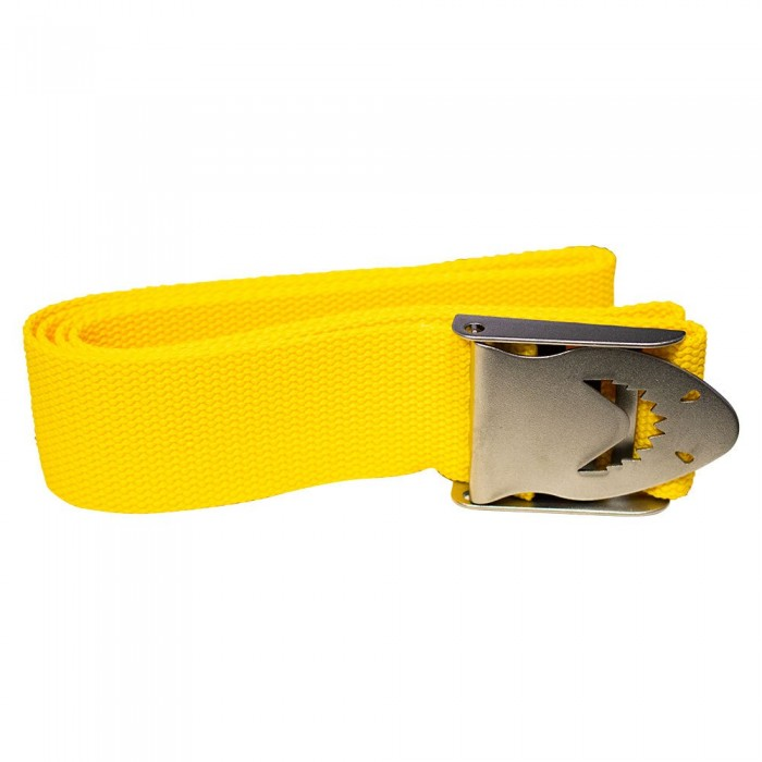 [해외]BEST DIVERS Shark Buckle Belt Yellow