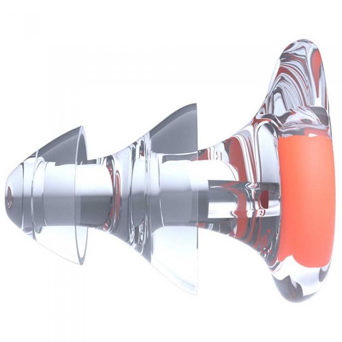 [해외]나이키 스윔 NESS9175 Ear Plugs Hyper Crimson