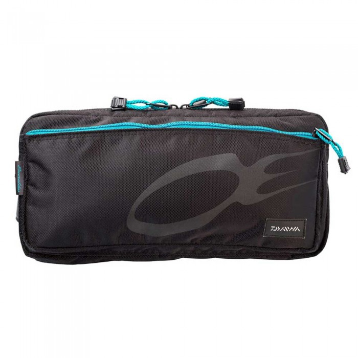[해외]다이와 Emeraldas Waist Bag 8137423018 Black / Turquoise