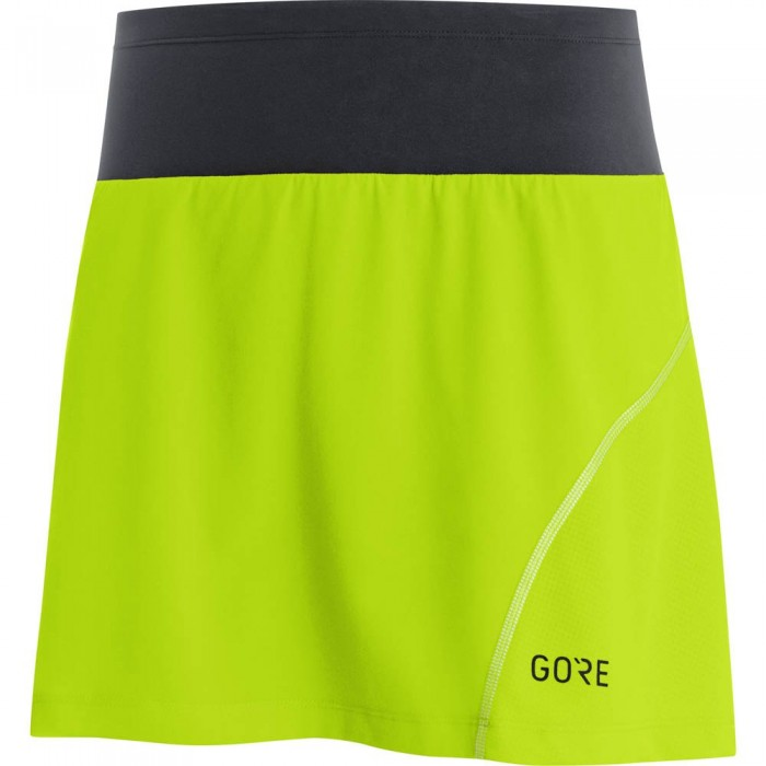 [해외]GORE? Wear R7 Skort Citrus Green / Black