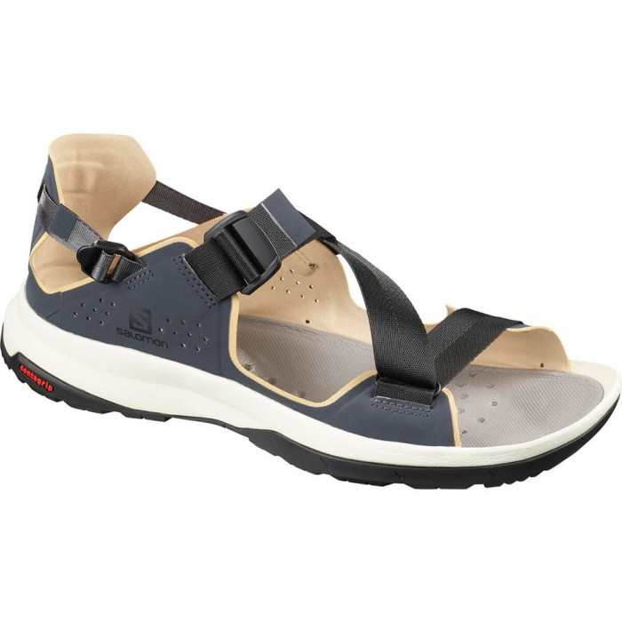 [해외]살로몬 Tech Sandal Man6137380856 India Ink / Black / Taos Taupe