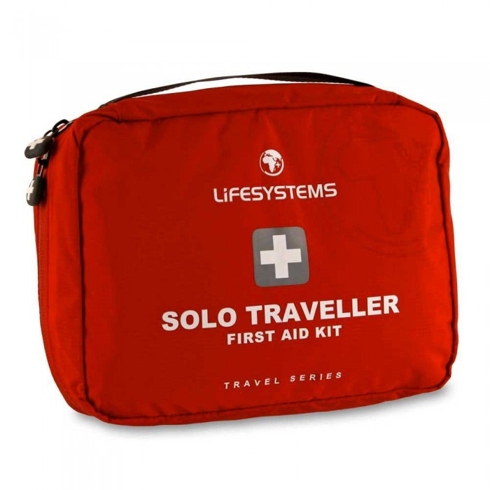 [해외]LIFESYSTEMS Solo Traveller First Aid Kit 14135876458 Red