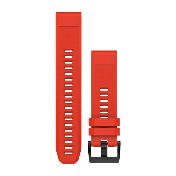 [해외]가민 Quickfit 피닉스 5 Silicon 스트랩 Red