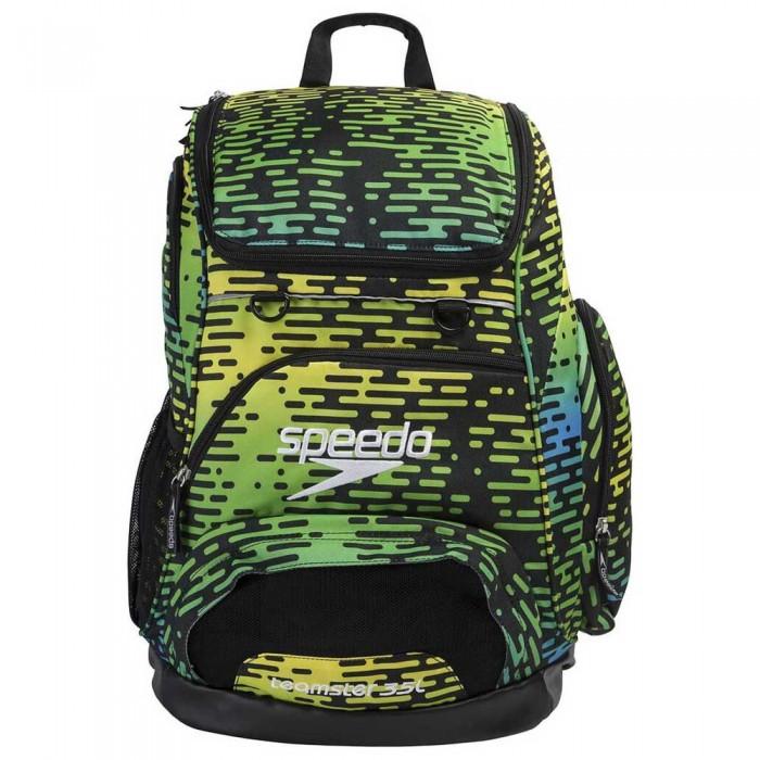 [해외]스피도 팀ster 35L Black/Blue/Green/Yellow Print