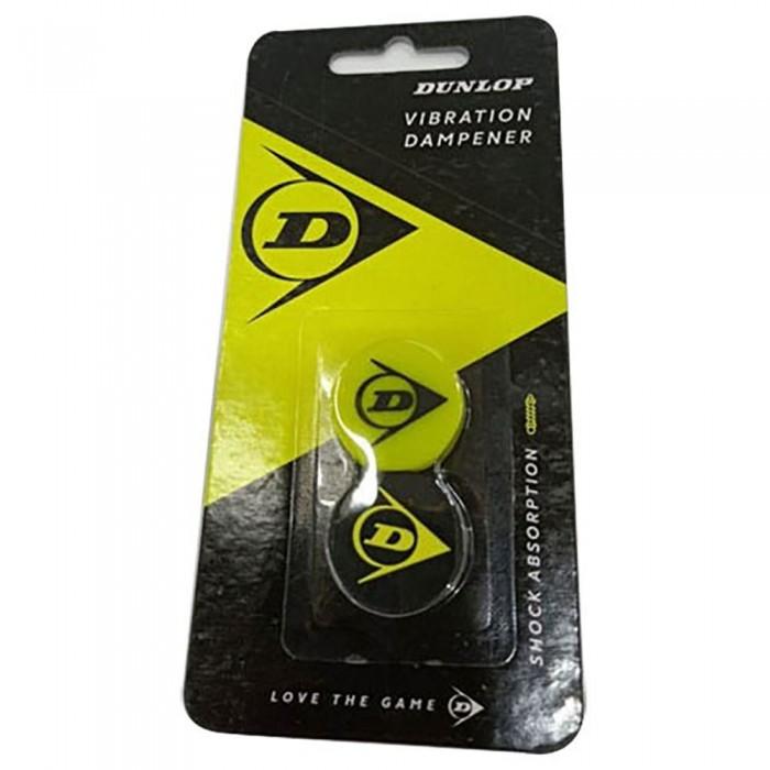 [해외]던롭 Logo Tennis Dampeners 2 Units 12137396289 Yellow / Black