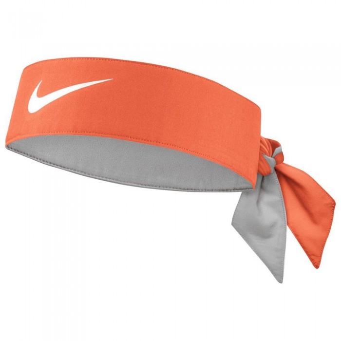 [해외]나이키 ACCESSORIES Headband 12137430270 Orange / White