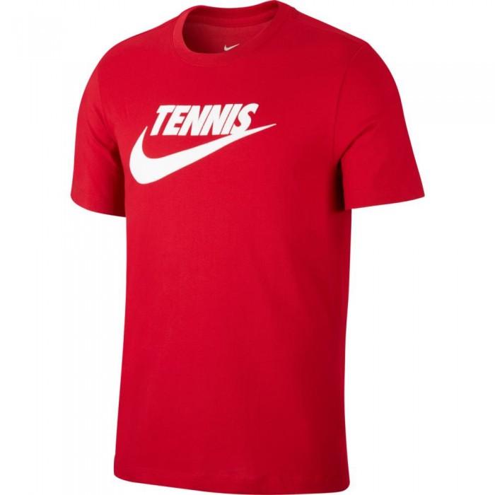 [해외]나이키 Court Dri Fit Graphic Gym Red / White