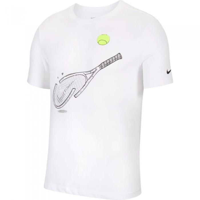 [해외]나이키 Court Dri Fit Racquet Graphic White