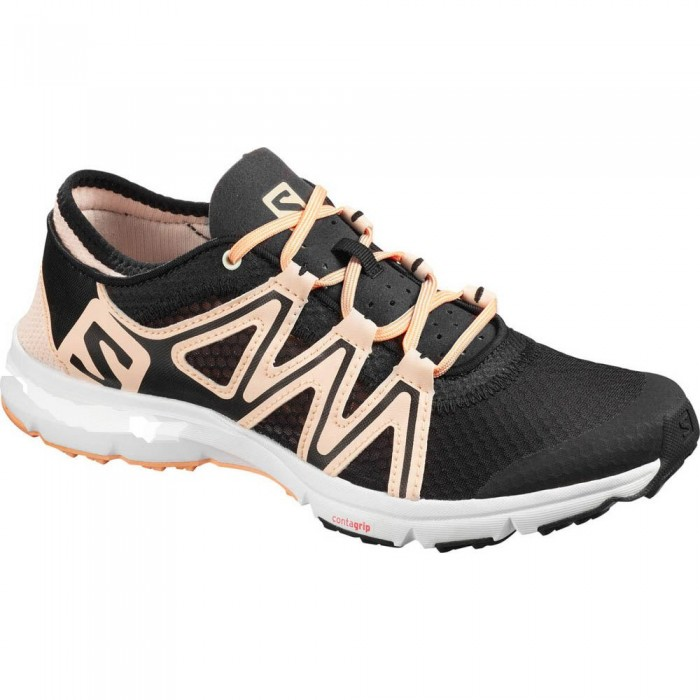 [해외]살로몬 Cross Amphibian Swift 2 Woman6137380684 Black / Bellini / Cantaloupe