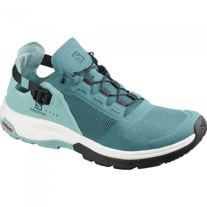 [해외]살로몬 Tech Amphib 4 Woman6137380694 Hydro. / Nile Blue / Poseidon