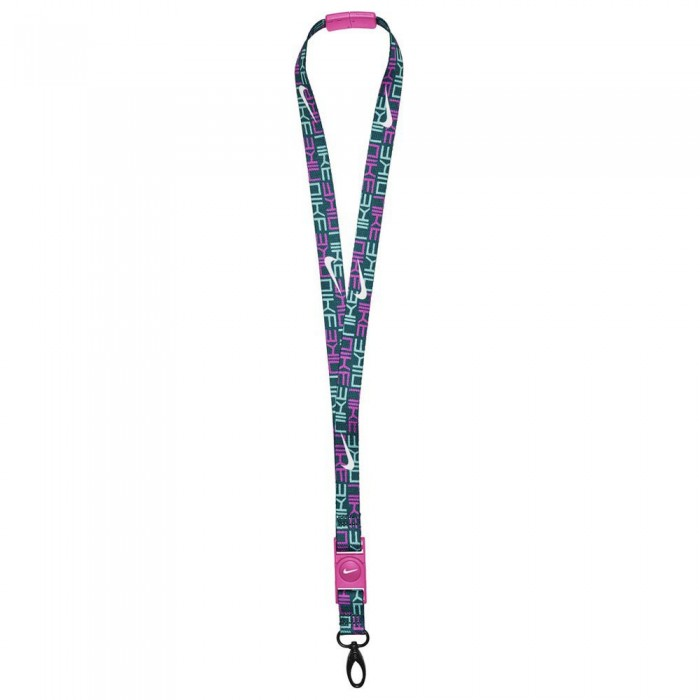[해외]나이키 ACCESSORIES Premium Lanyard 7137428073 Midnight Turq / Fire Pink