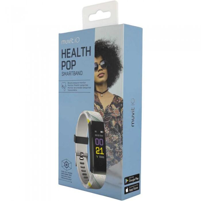 [해외]MUVIT iO Health Pop Activity Band 7137446838 Multicolor