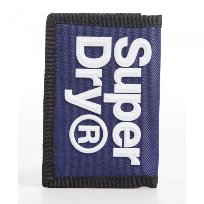 [해외]슈퍼드라이 Velcro 로고 Downhill Blue