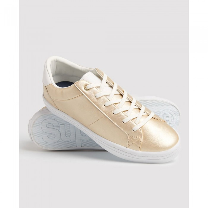 [해외]슈퍼드라이 Skater Sleek Low Woman137383386 Antique Gold