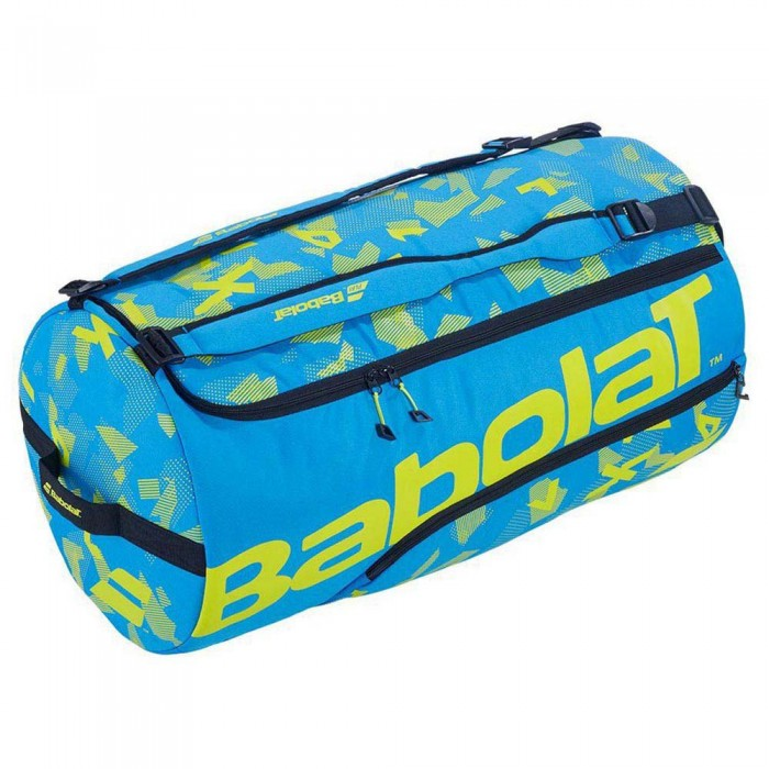 [해외]바볼랏 Playformance Duffle XL 80L Blue / Acid Green