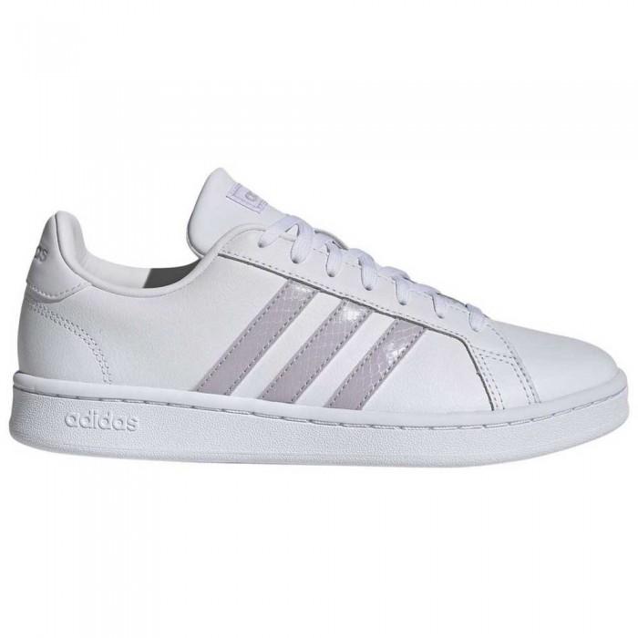 [해외]아디다스 Grand Court 12137385041 Footwear White / Mauve / Grey Two