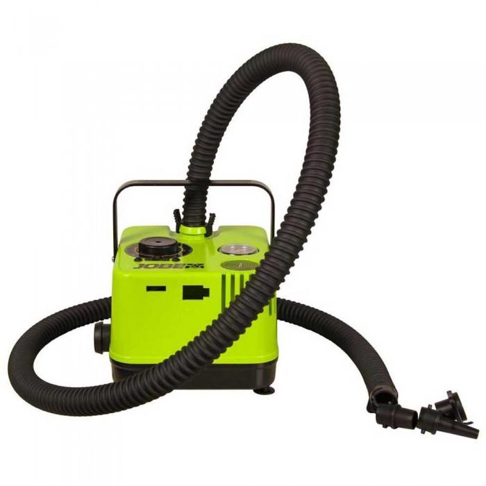 [해외]JOBE Portable Electric 에어 Pump 위드 백 And UK Plug Black / Lime