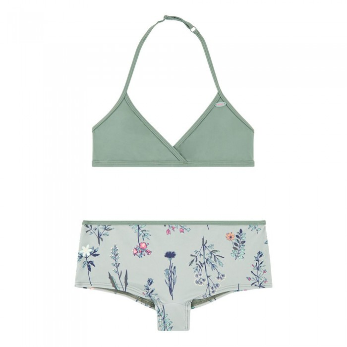[해외]오닐 PG 숏y Surf Bikini Green AOP W/ Pink-Purple