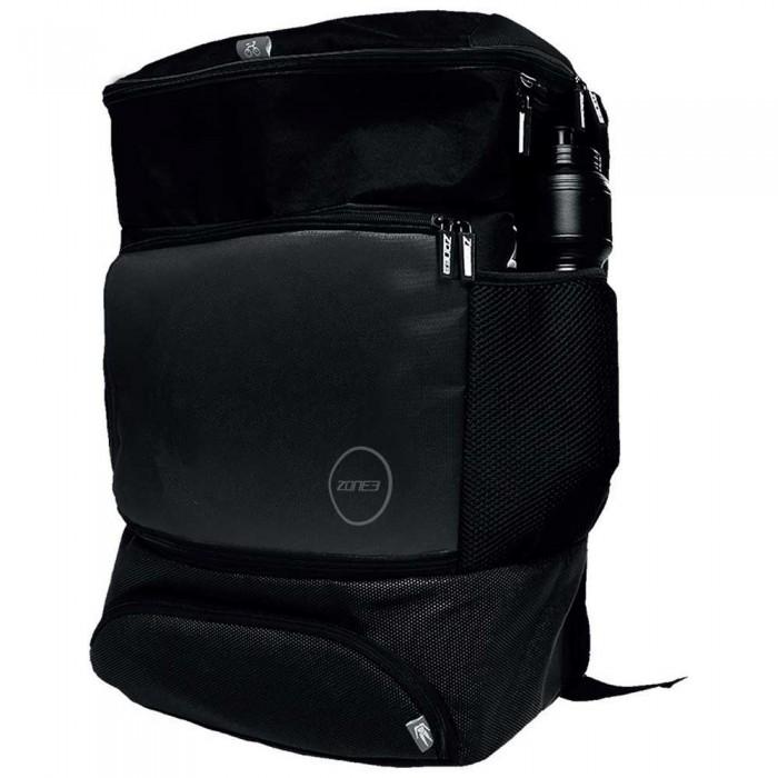 [해외]ZONE3 Transition Backpack 위드 EVA Cycle Helmet Compartment Black/Grey