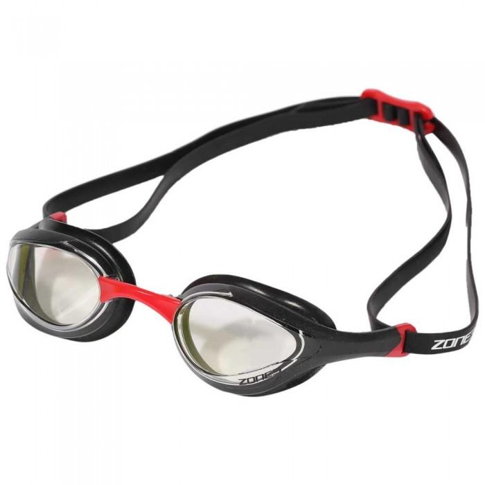 [해외]ZONE3 Volare Streamline Racing 6137448296 Clear Lens - Black/Red