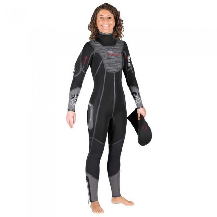 [해외]마레스 Flexa Graphene 7 mm She Dives 10137426279 Black / Grey