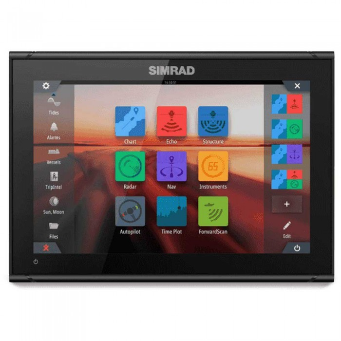 [해외]SIMRAD GO12 XSE ROW Active Imaging 3-In-1 137090874 Black