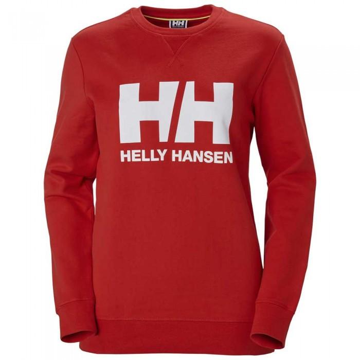 [해외]헬리한센 Logo Crew 8137373344 Alert Red