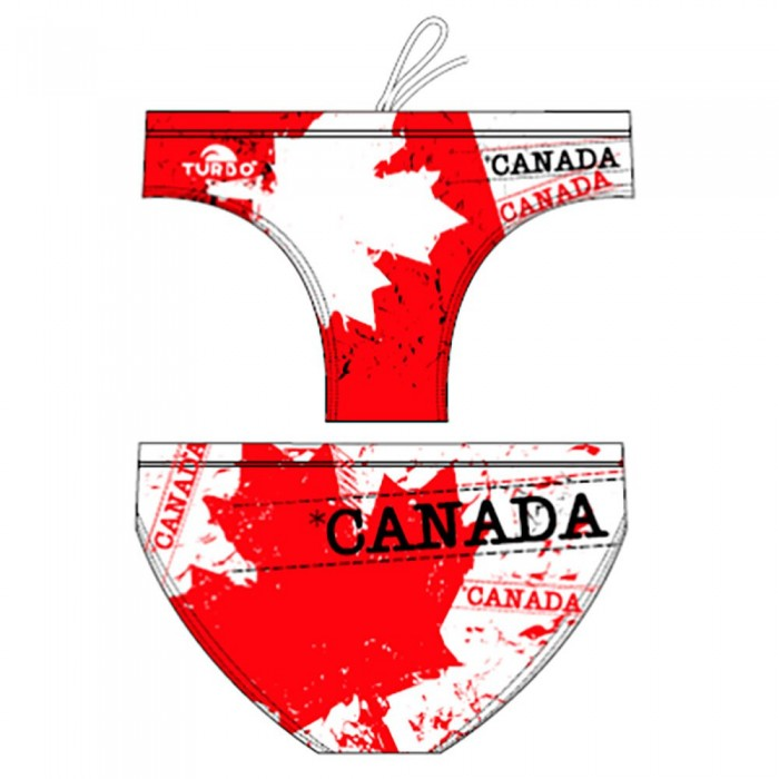 [해외]터보 Canada Leaf White/Red