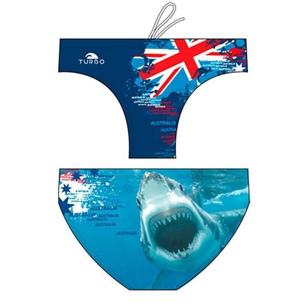 [해외]터보 Shark Australia 2015 워터폴로 Navy