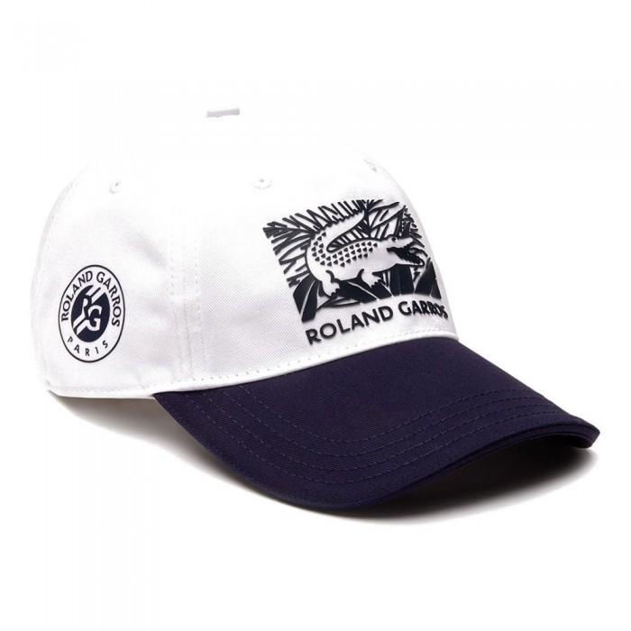 [해외]라코스테 스포츠 Cap White / Navy Blue