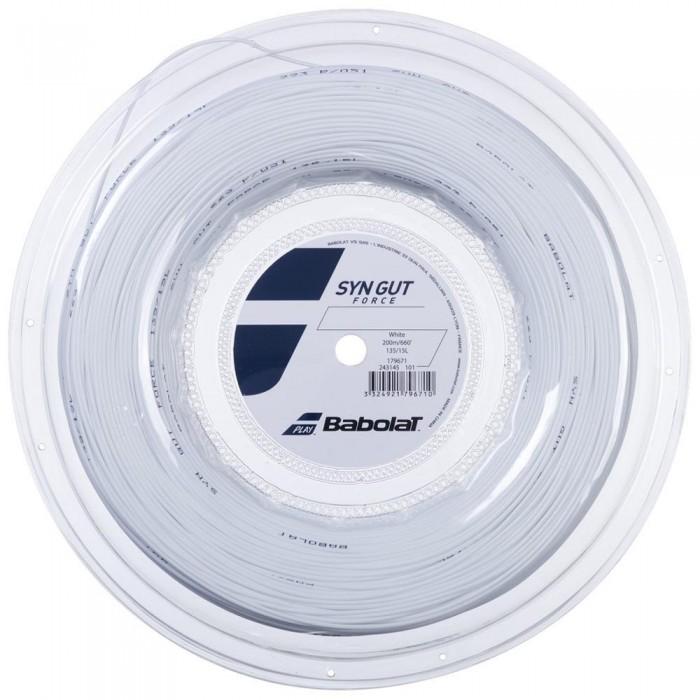[해외]바볼랏 Synthetic Gut Force 200 m White