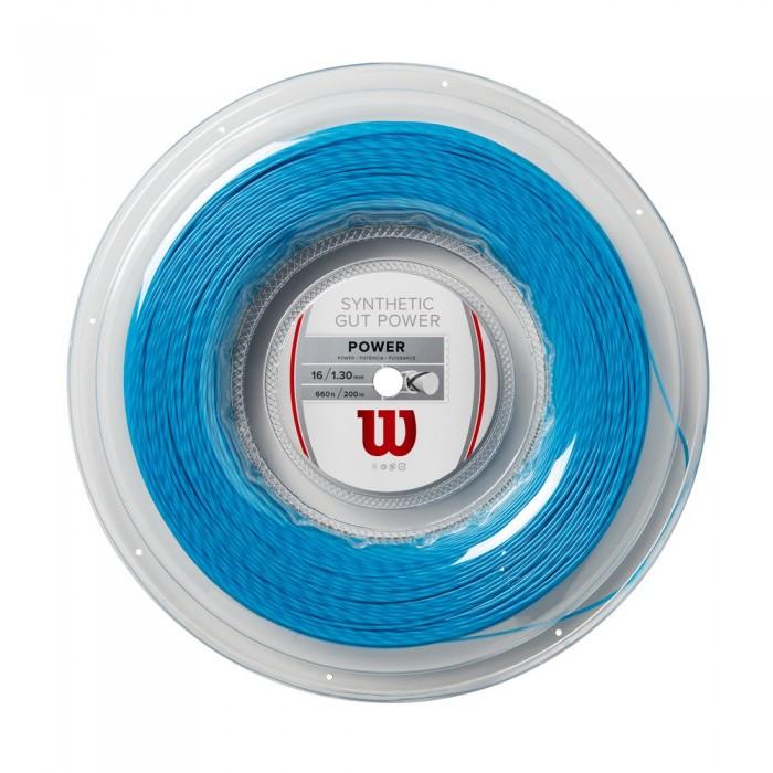 [해외]윌슨 Synthetic Gut Power 200 m Bright Blue