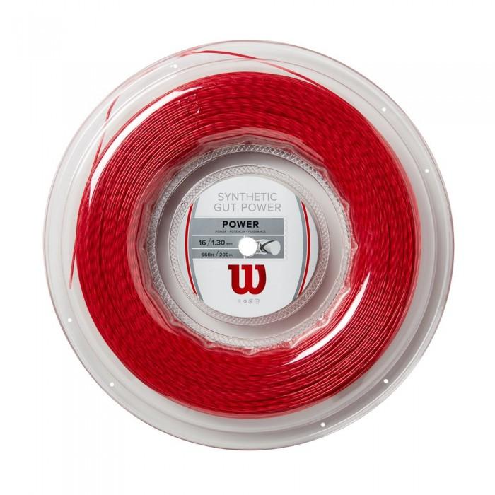 [해외]윌슨 Synthetic Gut Power 200 m Red