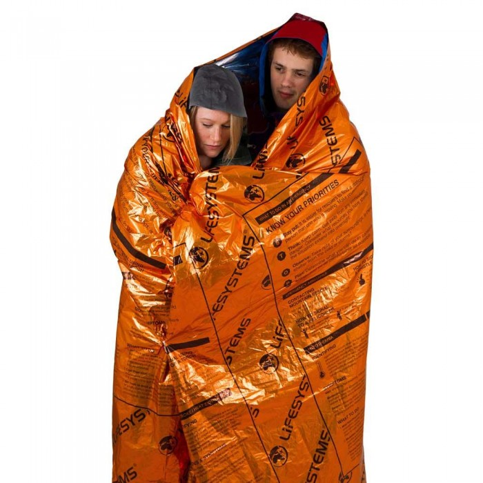 [해외]LIFESYSTEMS Heatshield Thermal Blanket 14136826758 Orange