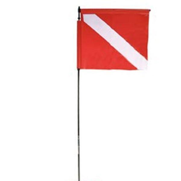 [해외]BEST 헌터 카본 Mast with Flag for Sea Monster