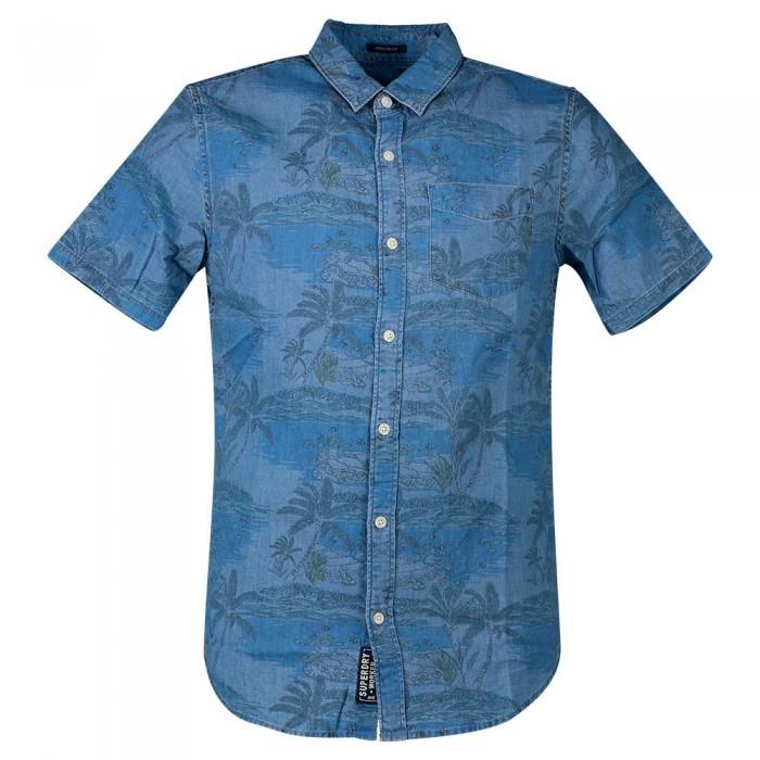 [해외]슈퍼드라이 마이에미 Loom Tropical Island Blue