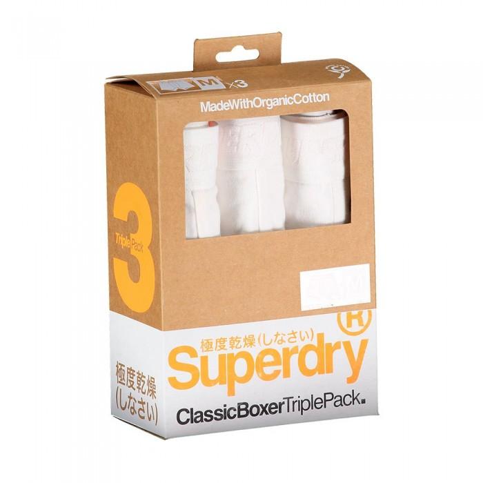 [해외]슈퍼드라이 Classic 복서 3 팩 White Multipack